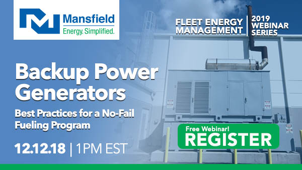 Backup Power Generators: Best Practices for a No-Fail Fueling Program
