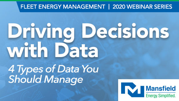 Webinar - Driving Decisions with Data