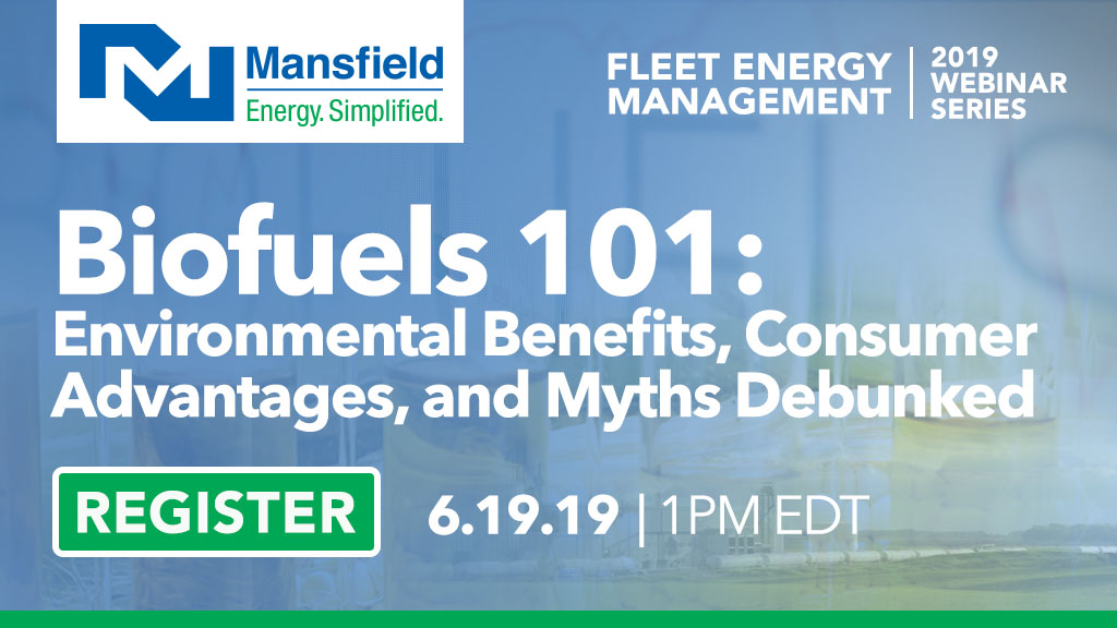 Webinar - Biofuels 101 - June 19 at 1pm
