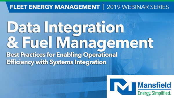 Request a Copy of the webinar Data Integration and Fuel Management