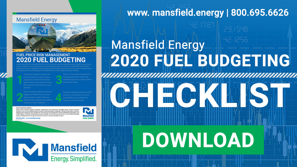 Fuel Budgeting Checklist