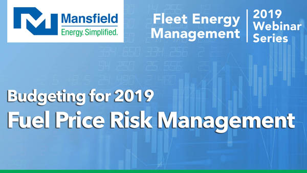 Budgeting for 2019: Price Risk Management