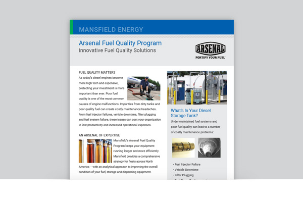 Arsenal Fuel Quality Program