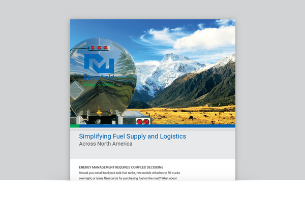 Mansfield Energy - Simplifying Fuel Supply and Logistics Across North America