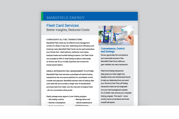 Fleet Card Services
