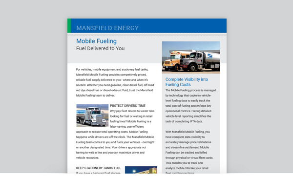 Mobile Fueling Services