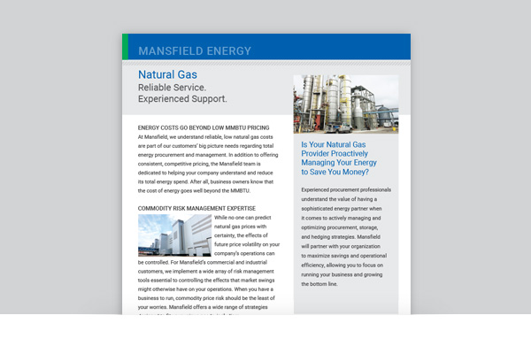 Mansfield Energy - Natural Gas