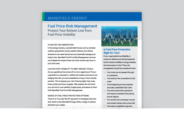 Fuel Price Risk Management