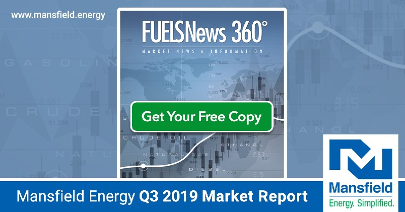 Promotional graphic for FUELSNews 360 downloads