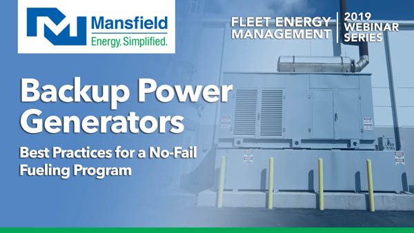 Managing fuel for backup power generators