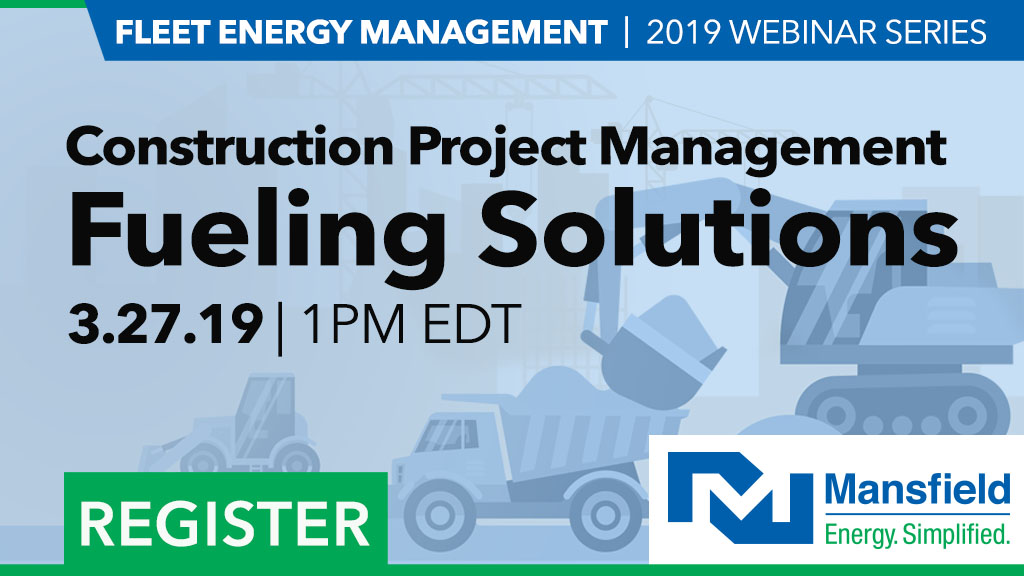 Webinar - Construction Project Management: Fueling Solutions