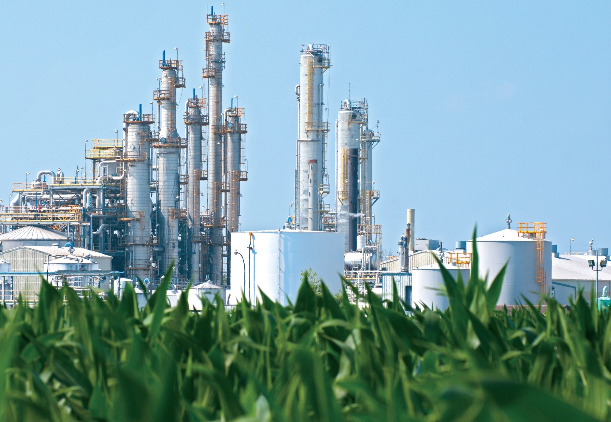 Natural Gas - refinery spring