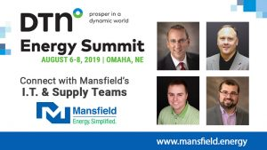 Mansfield's Supply and IT Teams are attending the 2019 DTN Energy Summit to learn about key market and technology trends.